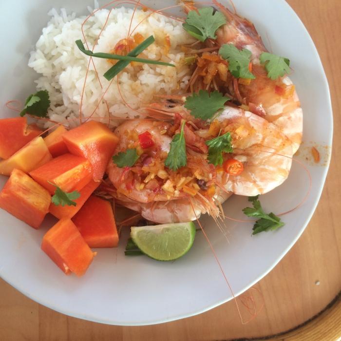 Orange Chile Shrimp